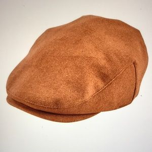 San Diego Hat Co Four Buttons Wool blend Flat Cap